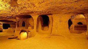 شهرهای زیرزمینی مخفی قونیه