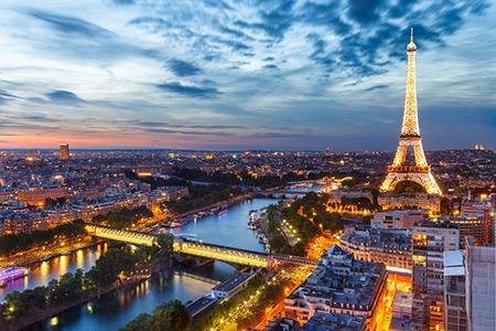 جاذبه های گردشگری در پاریس