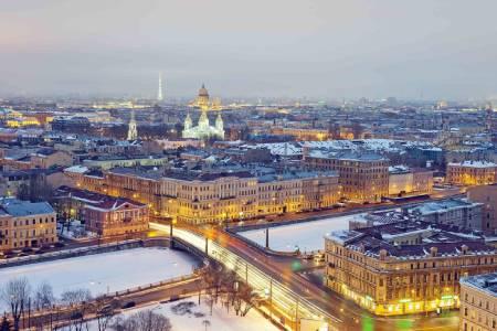 سن پترزبورگ کجاست؟