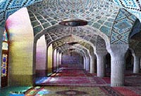 مسجد نصیر الملک یکی از زیباترین مساجد شیراز