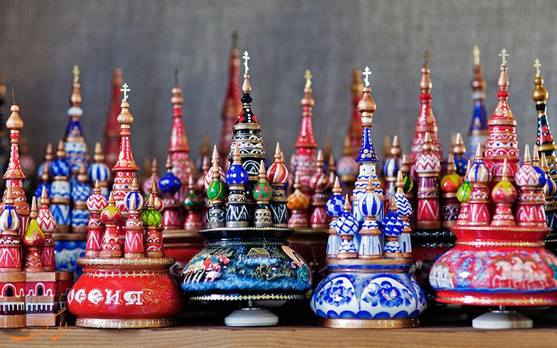 بهترین سوغات روسیه