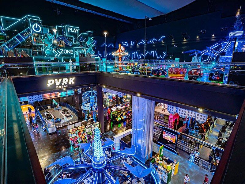 پارک واقعیت مجازی دبی مال